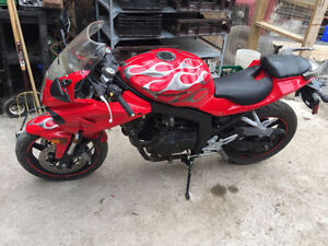 2010 Hyosung Gt250R only 5,200 kms
