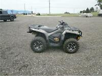 2013 CAN AM OUTLANDER 650 XT WITH 3200 KMS! $6495!!