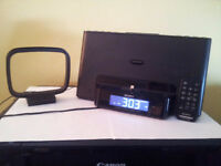 Sony iPhone Dock with Clock Radio