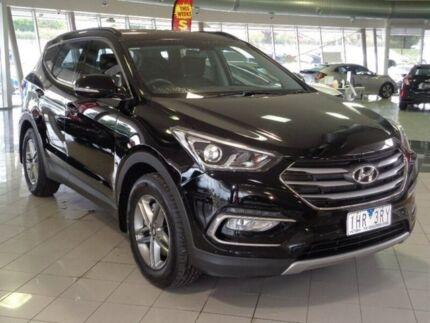 2016 Hyundai Santa Fe DM3 MY16 Active Black 6 Speed Sports Automatic Wagon