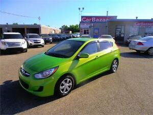 2012 HYUNDAI ACCENT GL ONE OWNER ACCIDENT FREE EASY FINANCING