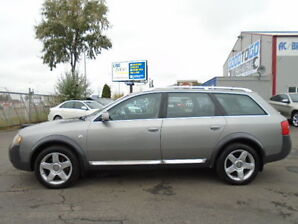 2004 Audi Allroad QUATTRO--2.7T TWIN TURBO---AWD-LEATHER-SUNROOF