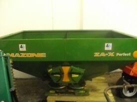 Amazone ZA-X Fertilizer Spinner (as new)