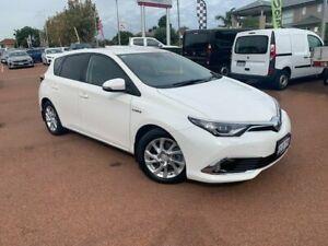 2017 Toyota Corolla ZWE186R Hybrid E-CVT White 1 Speed Constant Variable Hatchback Hybrid Melville Melville Area Preview