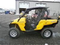 2013 CAN AM COMMANDER 800 4X4 DPS WITH ROOF/WINDSHIELD! $11995!