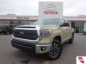 2018 Toyota Tundra TRD CREW MAX/ CLEAN CAR PROOF/ MOON ROOF/ BAC