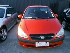 2008 Hyundai Getz TB MY07 S Red 5 Speed Manual Hatchback Stafford Brisbane North West Preview