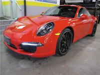 2013 Porsche 911 Carrera Red RWD ACCIDENT FREE LOW MILEAGE