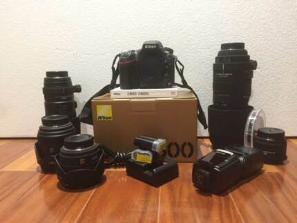 Nikon D800 Camera and Lense Package Baldivis Rockingham Area Preview