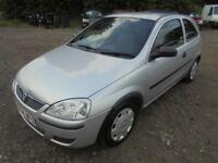 Vauxhall Corsa 1.2I 16V LIFE (silver) 2004