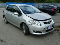 Toyota Auris 1.4 16v Vvti 2009 For Breaking