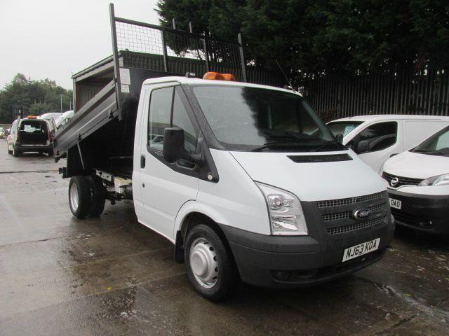 Ford Transit T350 MWB S/Cab Tipper Tdci 100Ps [Drw] Euro 5 DIESEL MANUAL (2013)