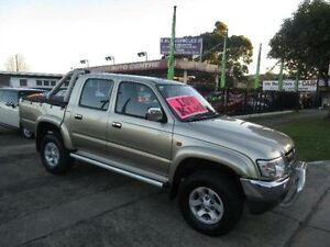 2004 Toyota Hilux VZN167R SR5 (4x4) Champagne 5 Speed Manual Dual Cab Pick-up New Lambton Newcastle Area Preview