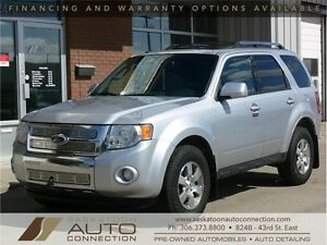 2010 Ford Escape Limited * AWD * LEATHER * MOONROOF * REM START