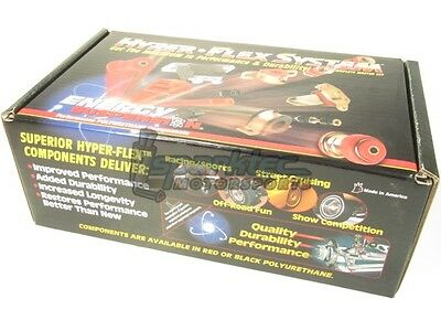 Energy Suspension Polyurethane Master Bushing Kit 96 00 Honda Civic ALL Red NEW