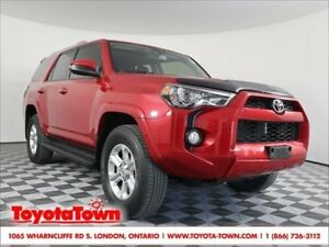2015 Toyota 4Runner SR5 LEATHER NAVIGATION MOONROOF 7 PASSENGER