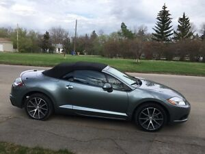 2009 Mitsubishi Eclipse Spyder GT-P Convertible