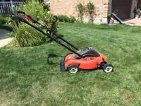 3 yr old Black & Decker Electric Lawn Mower