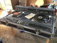 Squire cx900 pro mixer twin dj decks