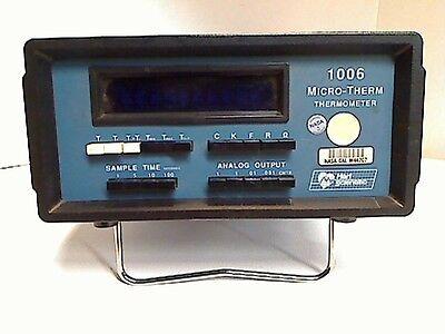 Hart Scientific Micro-therm Thermometer 1006