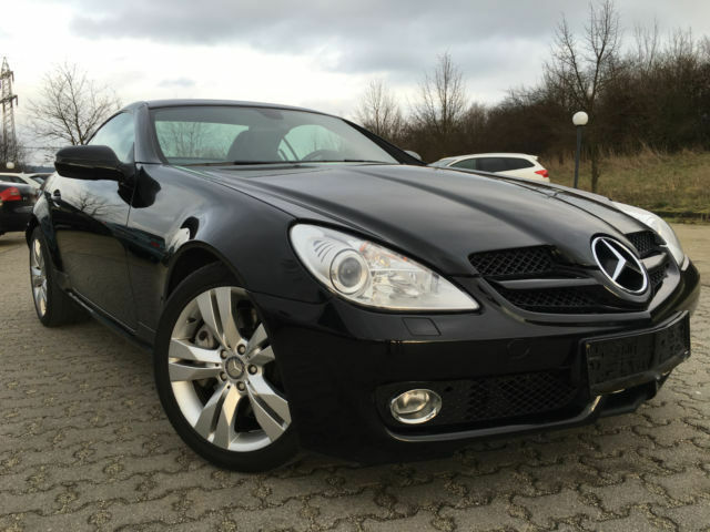 mercedes benz slk 350 leder navi xenon scheckheft in hessen petersberg mercedes slk. Black Bedroom Furniture Sets. Home Design Ideas