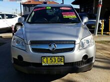 2009 Holden Captiva CG MY09 SX (4x4) Silver 5 Speed Automatic Wagon Five Dock Canada Bay Area Preview