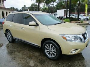 2014 Nissan Pathfinder R52 ST-L (4x4) Champagne Continuous Variable Wagon South Nowra Nowra-Bomaderry Preview