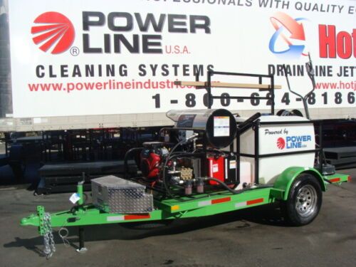 Power Wash Trailer, Starter Pressure Wash Trailer, Mobile Cleaning Equipment