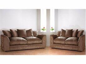 Sale Now On**Brand New good Quality Jumbo code Dylan fabric sofa Set