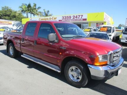 2004 Ford F250 RN XLT Burgundy 4 Speed Automatic Utility Kedron Brisbane North East Preview