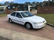 1997 Ford Falcon EL GLi White 4 Speed Automatic Sedan South Nowra Nowra-Bomaderry Preview