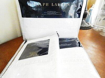 Ralph Lauren La Hacienda WINDSOR 3 PC Duvet Sham Set KING 10