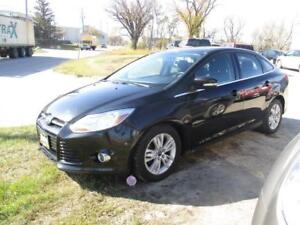 2012 FORD FOCUS SEL, LOW KM HEATED SEATS, SAFETY&WARRANTY $7,950