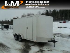 NEW 2017- 7X14' CARGO EXPRESS ENCLOSED TRAILER