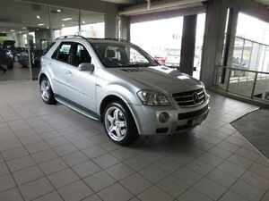 2008 Mercedes-Benz ML W164 08 Upgrade 63 AMG (4x4) Cubanite Silver 7 Speed Automatic G-Tronic Wagon Thornleigh Hornsby Area Preview