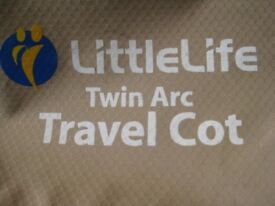 Little Life Twin Arc Travel Cot