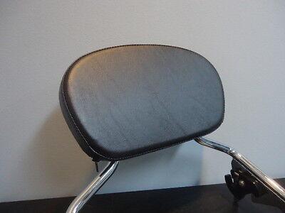 Small backrest sissybar pad for HARLEY touring models FLH street glide road king