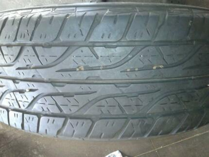"18"" DUNLOP TYRES 265/60R18 Dandenong South Greater Dandenong Preview"