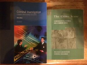 POLICE FOUNDATIONS TEXTBOOK - CRIMINAL INVESTIGATIONS/FORENSICS London Ontario image 1