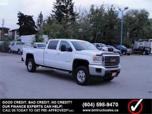 2015 GMC SIERRA 2500HD SLE CREW CAB LONG BOX 4X4