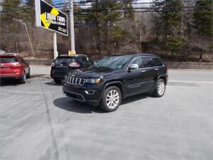 2017 Jeep Grand Cherokee Limited Loaded With Leather