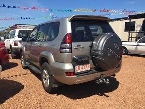 2003 Toyota Landcruiser Prado GXL Gold 4 Speed Automatic Wagon Hidden Valley Darwin City Preview