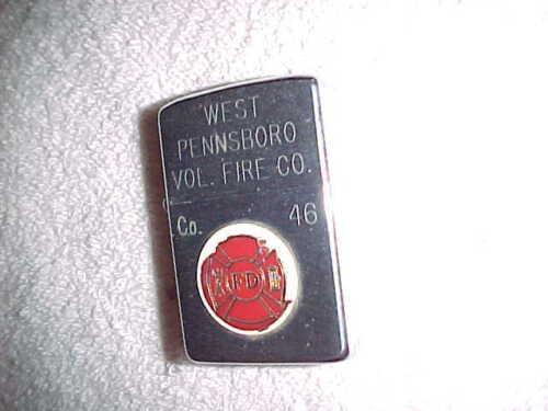 ZIPPO  -  WEST PENNSBORO Volunteer FIRE CO  1979  PENNSYLVANIA