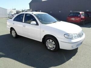2005 Nissan Pulsar N16 MY04 ST White 4 Speed Automatic Sedan Southport Gold Coast City Preview