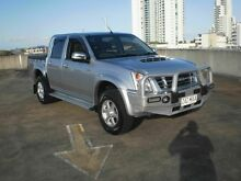 2009 Isuzu D-MAX TF LS-U (4x4) Silver 5 Speed Manual Crewcab Southport Gold Coast City Preview
