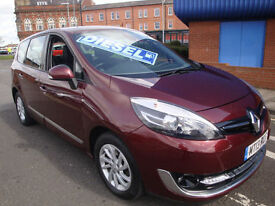 13 RENAULT GRAND SCENIC DCI DYNAMIQUE TOMTOM £20 TAX 7 SEATS *LEATHER SATNAV*