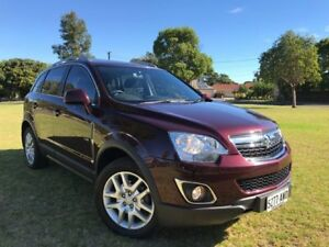 2013 Holden Captiva CG Series II MY12 5 AWD Maroon 6 Speed Sports Automatic Wagon Somerton Park Holdfast Bay Preview