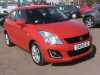 SUZUKI SWIFT 1.2 SZ3 5 DR RED FSH,1 YRS MOT,CLICK ON VIDEO LINK TO SEE AND HEAR MORE DETAILS OF CAR