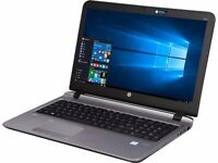 "HP 455 PROBOOK 15.6"" LAPTOP - AMD A10 QUAD CORE, 8GB RAM, 120GB SSD, WINDOWS 10 PRO (NEW & BOXED)"