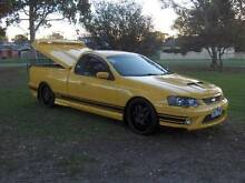 2005 FORD FALCON BF XR6 TURBO YELLOW UTE!!! Mordialloc Kingston Area Preview